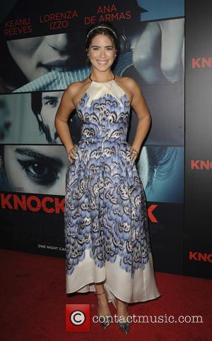 Lorenza Izzo - 'Knock Knock' Los Angeles premiere at the TCL Chinese Theatre - Arrivals - Los Angeles, California, United...