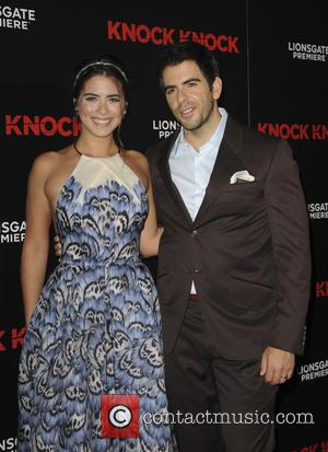 Lorenza Izzo , Eli Roth - 'Knock Knock' Los Angeles premiere at the TCL Chinese Theatre - Arrivals - Los...