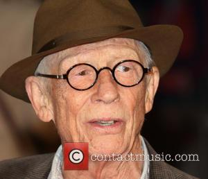 John Hurt - BFI London Film Festival opening night premiere of 'Suffragette' - Arrivals at Odeon Leicester Square - London,...