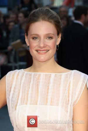 Romola Garai - BFI London Film Festival opening night premiere of 'Suffragette' - Arrivals at Odeon Leicester Square - London,...