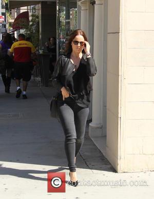 Mena Suvari - Mena Suvari out and about in Beverly Hills at beverly hills - Beverly Hills, California, United States...