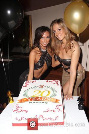 Malena , Monroe - Rick's Cabaret New York Celebrates 20th Anniversary of Nasdaq in New York City - New York,...