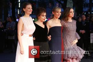 Romola Garai, Helena Bonham Carter, Anne-Marie Duff , Carey Mulligan - London Film Festival Suffragette Premiere held at the Odeon...