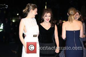 Romola Garai , Helena Bonham Carter - London Film Festival Suffragette Premiere held at the Odeon Leicester Square - Arrivals...