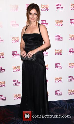 Geri Halliwell - The Breast Cancer Care Fashion Show - Evening Show at the Grosvenor House Hotel at Grosvenor Hotel...