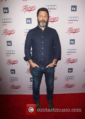 Nick Offerman - Premiere screening of FX's 'Fargo' at the Arclight Cinemas Hollywood - Arrivals at ArcLight Cinemas - Los...