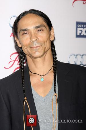 Zahn McClarnon - Premiere of FX's 'Fargo' held at the Arclight Cinemas Hollywood at ArcLight Theaters Hollywood, ArcLight Cinemas -...