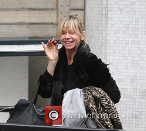 Zoe Ball - Zoe Ball outside ITV Studios - London, United Kingdom - Wednesday 7th October 2015