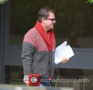 Alan Carr - Alan Carr outside ITV Studios - London, United Kingdom - Wednesday 7th October 2015