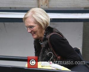 Mary Berry - Mary Berry outside ITV Studios - London, United Kingdom - Wednesday 7th October 2015