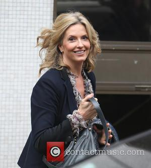 Penny Lancaster - Penny Lancaster outside ITV Studios - London, United Kingdom - Wednesday 7th October 2015