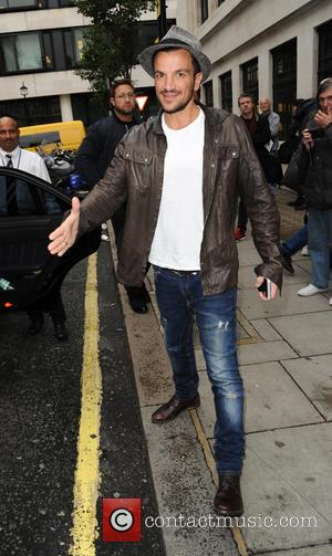 Peter Andre - Peter Andre at Kiss FM Studios - London, United Kingdom - Wednesday 7th October 2015