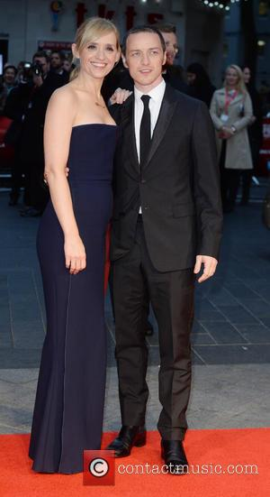 Ann-Marie Duff and James McAvoy