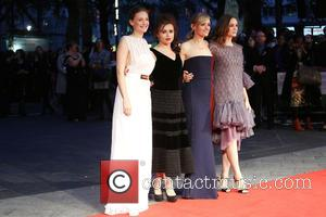 Romola Garai, Helena Bonham Carter, Anne Marie Duff , Carey Mulligan - London Film Festival Suffragette Premiere held at the...