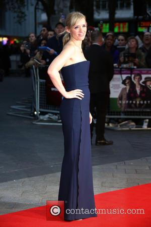 Anne-Marie Duff - London Film Festival Suffragette Premiere held at the Odeon Leicester Square - Arrivals at Odeon Leicester Square...