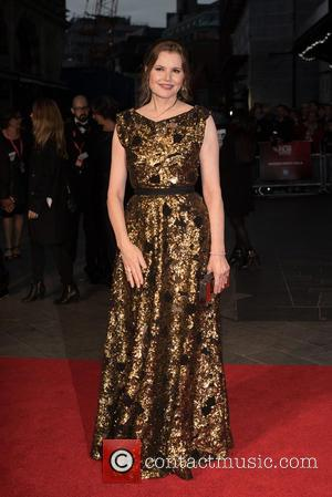 Geena Davis - LFF: Suffragette Premiere held at the Odeon Leicester Square - Arrivals. at Odeon Leicester Square - London,...