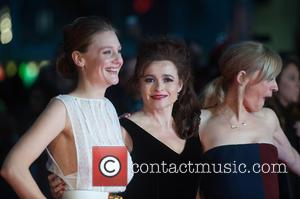 Romola Garai, Helena Bonham Carter , Anne Marie Duff - LFF: Suffragette Premiere held at the Odeon Leicester Square -...