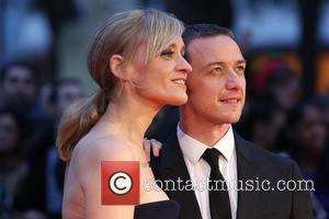 Anne-Marie Duff , James McAvoy - London Film Festival Suffragette Premiere held at the Odeon Leicester Square - Arrivals at...