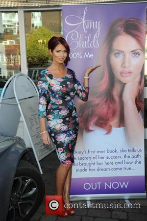 Amy Childs - Amy Childs launches book in Essex pictured here in her salon. - London, United Kingdom - Thursday...