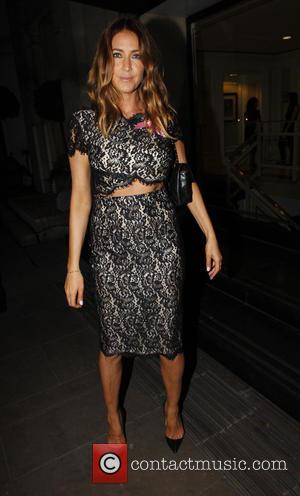 Lisa Snowdon - The Breast Cancer Care Fashion Show - Evening Show at the Grosvenor House Hotel - Outside Arrivals...