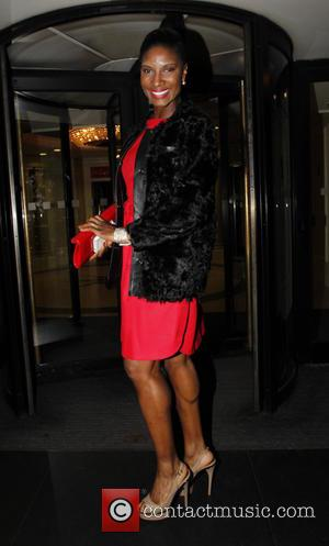 Guest - The Breast Cancer Care Fashion Show - Evening Show at the Grosvenor House Hotel - Outside Arrivals at...