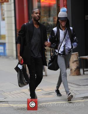 Chantelle Brown Young - Chantelle Brown Young seen out in London - London, United Kingdom - Thursday 8th October 2015