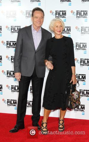 Bryan Cranston , Dame Helen Mirren - Photocall for 'Trumbo' during the BFI London Film Festival at the Corinthia Hotel,...
