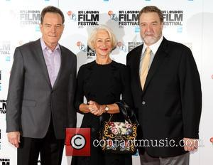 Bryan Cranston, Dame Helen Mirren , John Goodman - Photocall for 'Trumbo' during the BFI London Film Festival at the...