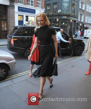 Nicole Kidman - Nicole Kidman arriving at the theatre, Photograph 51 - LONDON, United Kingdom - Thursday 8th October 2015