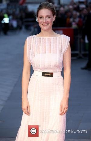 Romola Garai - BFI London Film Festival opening night premiere of 'Suffragette' - Arrivals - London, United Kingdom - Thursday...
