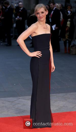 Anne-Marie Duff - BFI London Film Festival opening night premiere of 'Suffragette' - Arrivals - London, United Kingdom - Thursday...