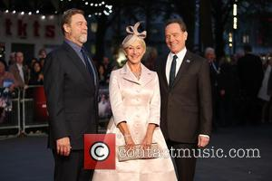 Helen Mirren, Bryan Cranston , John Goodman - BFI London Film Festival - Trumbo Premiere - Arrivals - London, United...