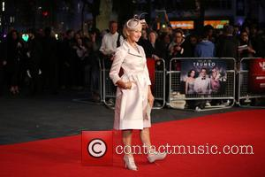 Helen Mirren - BFI London Film Festival - Trumbo Premiere - Arrivals - London, United Kingdom - Thursday 8th October...