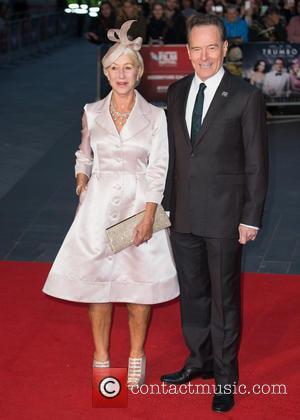 Dame Helen Mirren and Bryan Cranston