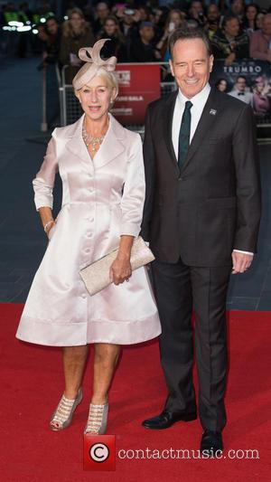 Dame Helen Mirren , Bryan Cranston - The BFI London Film Festival Accenture Gala of 'Trumbo' held at the Odeon...