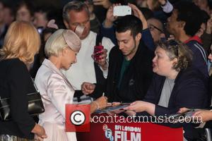 Dame Helen Mirren - The BFI London Film Festival Accenture Gala of 'Trumbo' held at the Odeon Leicester Square -...