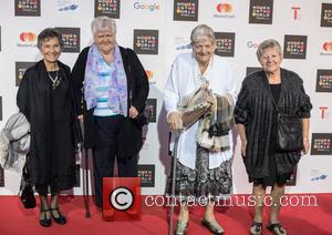 Eileen Pullen, Gwen Davis, Sheila Douglass , Vera Sime - Women in the World Summit held at Cadogan Hall -...