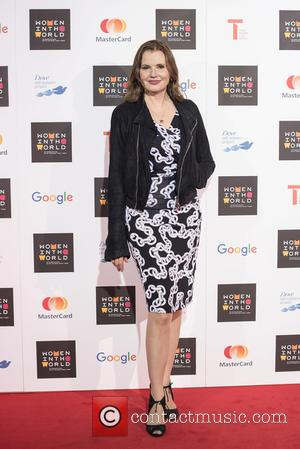 Geena Davis - Women in the World Summit held at Cadogan Hall - Arrivals. - London, United Kingdom - Thursday...