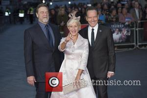 John Goodman, Dame Helen Mirren and Bryan Cranston