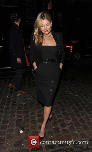 Kate Moss - Celebrities out and about in Mayfair - London, United Kingdom - Thursday 8th October 2015