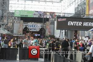 Atmosphere - Fans come out in crazy costumes on Day 1 of the New York City Comic Con at the...
