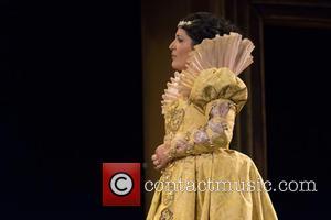 Atmosphere - The Opera 'Galanteos in Venice' at the Teatro de la Zarzuela in Madrid - Madrid, Spain - Thursday...