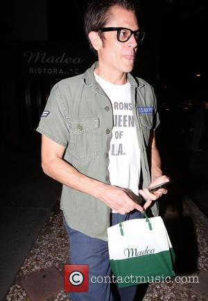 Johnny Knoxville - Johnny Knoxville picks up some takeaway food from Madeo restaurant in Beverly Hills - Los Angeles, California,...
