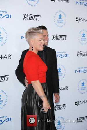 Pink - The Autism Speaks to LA Celebrity Chef Gala - Arrivals - Los Angeles, California, United States - Thursday...