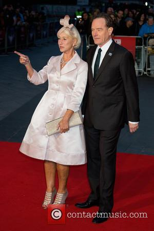 Helen Mirren , Bryan Cranston - BFI London Film Festival - 'Trumbo' - Premiere - Arrivals at The Odeon,Leicester Square...
