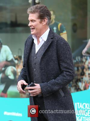 David Hasselhoff Launches Peter Pan In Scotland