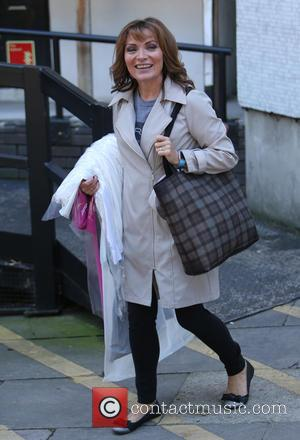 Lorraine Kelly - Lorraine Kelly outside ITV Studios - London, United Kingdom - Thursday 8th October 2015