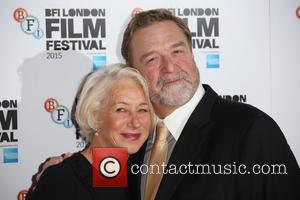 Helen Mirren , John Goodman - BFI London Film Festival Trumbo photocall - London, United Kingdom - Thursday 8th October...