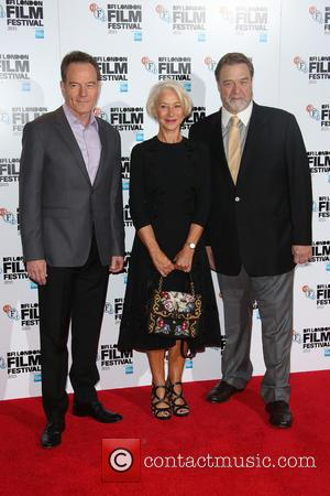 Bryan Cranston, Helen Mirren , John Goodman - BFI London Film Festival - 'Trumbo' - Photocall - London, United Kingdom...