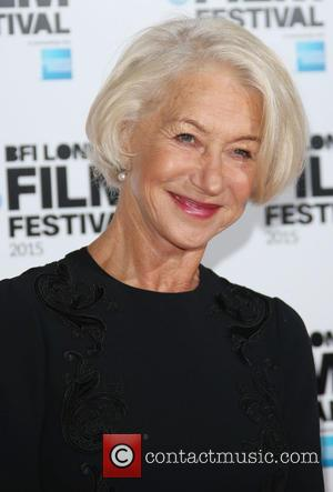 Helen Mirren - BFI London Film Festival - 'Trumbo' - Photocall - London, United Kingdom - Thursday 8th October 2015